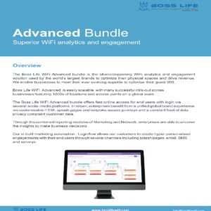 Enterprise Bundle Boss Life Wifi Powered by Purple Overview