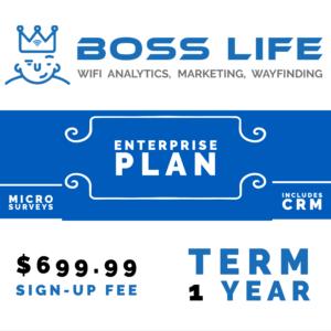 Enterprise Bundle Boss Life Wifi Powered by Purple 1 year upfront pay