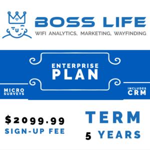 Enterprise Bundle Boss Life Wifi Powered by Purple 5 year upfront pay